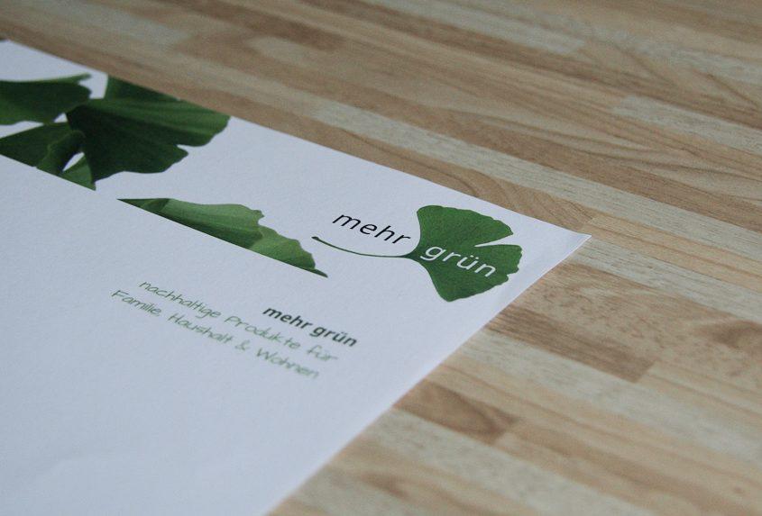"daklue Projekt ""mehr grün Onlineshop"""