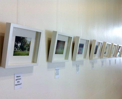 "Fotoserie und Ausstellung ""Heimat"""