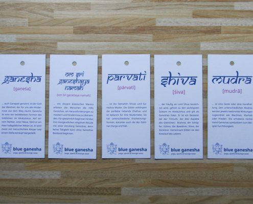 """Corporate Design für das Modelabel """"Blue Ganesha"""""""