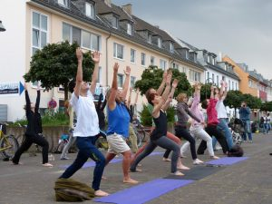 YogaMob Veedelfunker Ehrenfeld (Foto © we are city)