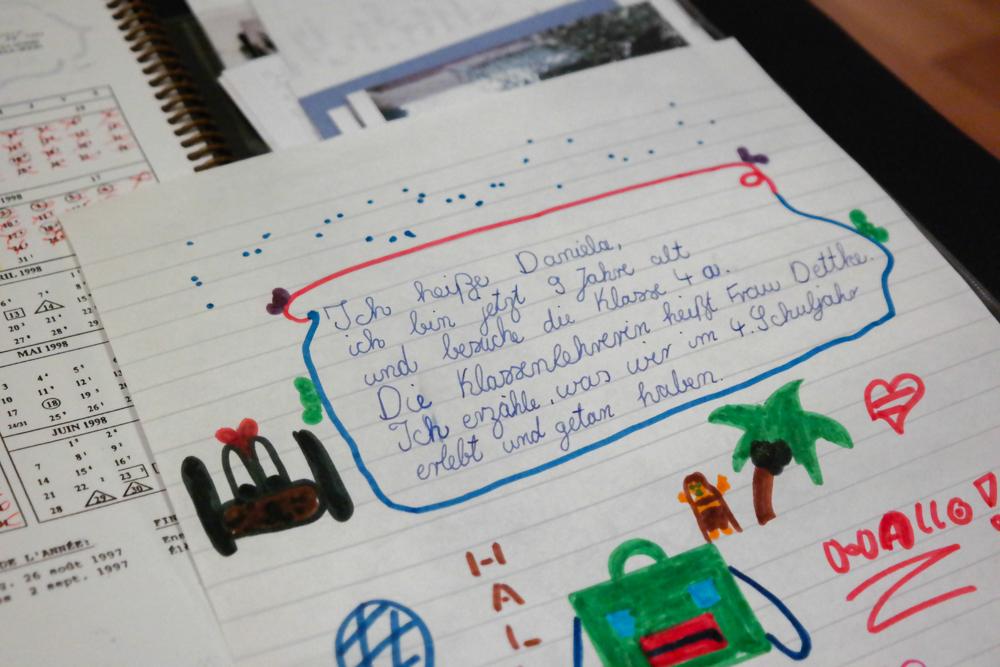 Kindheitserinnerung: Hausaufgabe aus der 4. Klasse