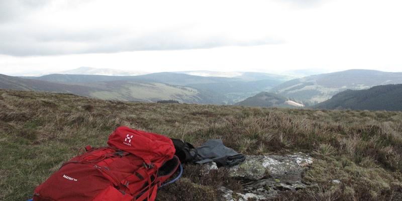 Mitten in den Wicklow Mountains