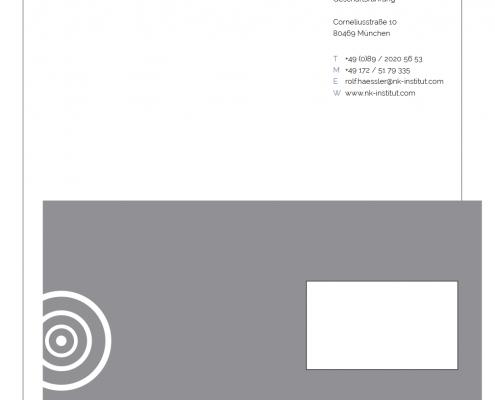 """daklue Projekt: Corporate Design """" Institut für nachhaltige Kapitalanlagen NKI"""""""